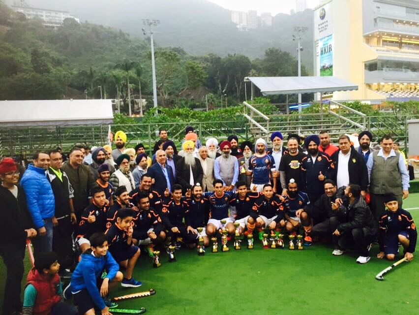 Khalsa Wins Guru Nanak Hockey Tournament 13 Dec 2015
